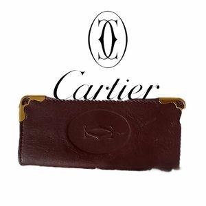 Beautiful Cartier Key Holder Wallet Case Pouch